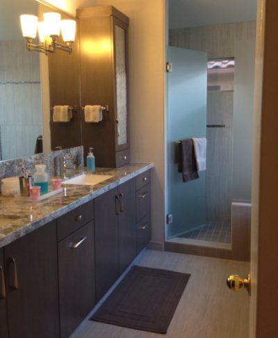 Bathroom Remodel full by Stradlings Cabinets 10