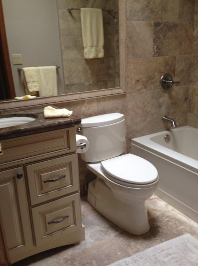Bathroom Remodels in Gilbert AZ by Stradlings Cabinets