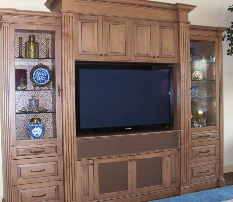 Entertainment Room Remodels by Stradlings Cabinets