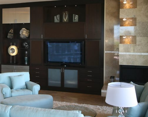 Entertainment Room Remodels in Gilbert Arizona by Stradlings Cabinets