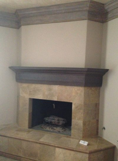 Entertainment Room Remodels with Fireplace by Stradlings Cabinets