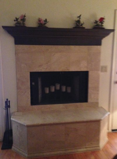 Entertainment Room Fireplace Remodels by Stradlings Cabinets