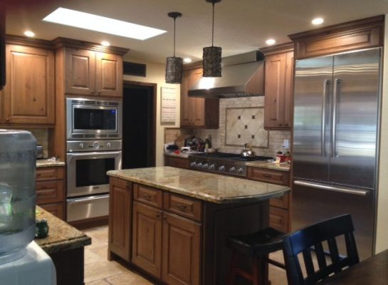Kitchen Cabinets in San Tan Valley Arizona by Stradling