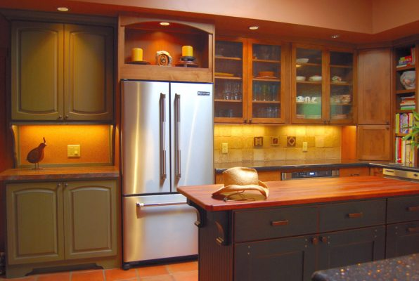 Modern Kitchen Cabinets by Stradling