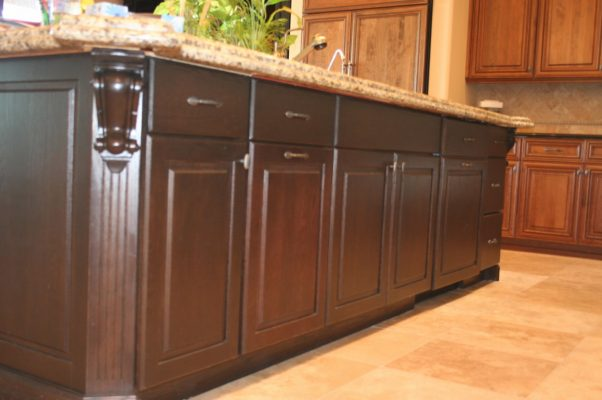 Kitchen Cabinets by Stradlings Cabinets floor view