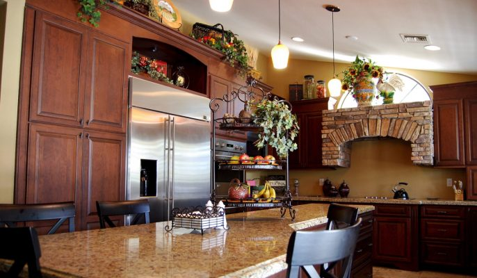 Kitchen Cabinets in Phoenix Arizona by Stradlings Cabinets