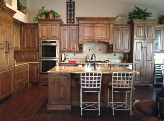 Traditional Kitchen Remodels by Stradling