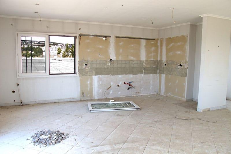 Kitchen demolition, Remodel Process, Stradling's Cabinets & remodeling, Gilbert, AZ