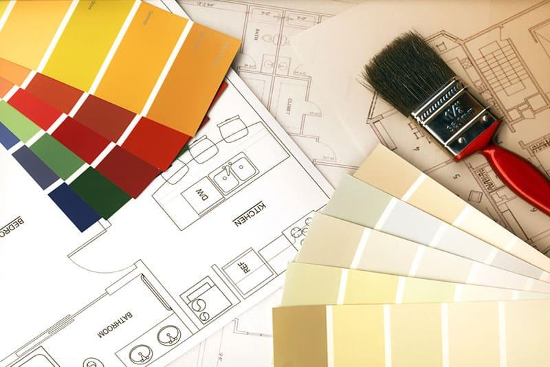 Kitchen design color palettes, Remodel Process, Stradling's Cabinets & remodeling, Gilbert, AZ