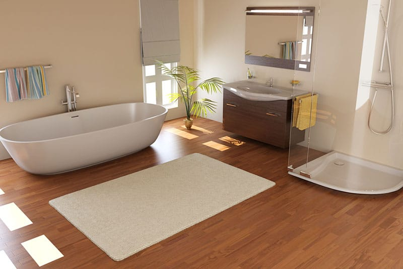 bathroom remodeling mistakes, wood floors, Stradling's Cabinets & Remodeling, Phoenix, AZ